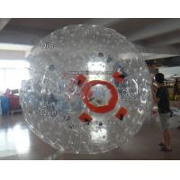 Buy cheap Customized Inflatable Zorb Ball Field , Zorbing Ball Track With PVC Tarpauline from wholesalers