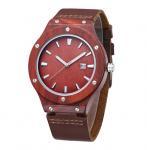 Buy cheap Analog Dial Display Custom Design Watches , Men'S Waterproof Wood Watch from wholesalers