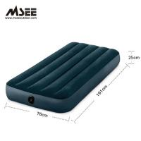 Buy cheap Inflatable Low Air Mattress King Size Customized Color 191 * 76 * 25CM from wholesalers