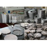 Buy cheap stainless steel extruder screen filters for machine product