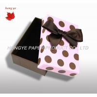 Buy cheap Personalized Wedding Gift Boxes , Luxury Jewelry Packaging Boxes from wholesalers