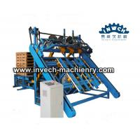 Buy cheap Automatic Penumatic EU Wooded Block Pallet Nailing Line from wholesalers