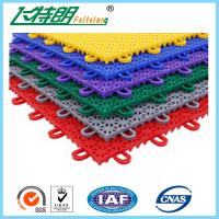 Buy cheap PP Anti Aging Interlocking Rubber Floor Tiles Play Mat Flooring 2500N from wholesalers