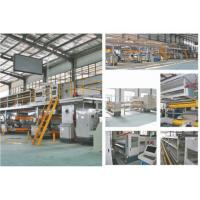 Buy cheap 5 Layer Corrugated Cardboard Production Line , 80KW Packaging Box Manufacturing Machine from wholesalers