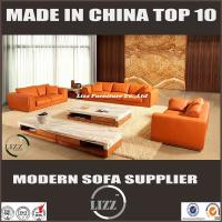 Buy cheap Italy style living room leather sofa set with pure leather LZ705 from wholesalers