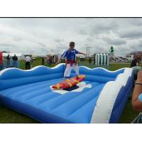 Buy cheap Wonderful Waterproof Inflatable Surfboard Simulator For Outdoor Blow Up Games from wholesalers