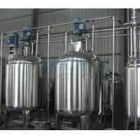 Buy cheap Hydraulic Lifiting Vacuum Emulsifying Making Machine China Gelatin Mixing Tank For Sale from wholesalers