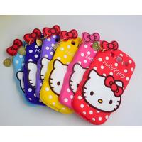 Buy cheap lovely hello kitty silicon Case For iPhone 4 5s 6s plus SAMSUNG galaxy S6 S7 NOTE 3 5 from wholesalers