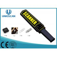 Buy cheap Low Sensitivity Super Scanner Metal Detector , Black Handheld Security Wand from wholesalers