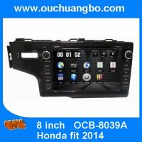 Buy cheap Ouchuangbo Auto DVD Stereo GPS Navigation for Honda Fit 2014 HD Video Bluetooth  Digital TV RDS OCB-8039A from wholesalers