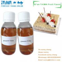 Buy cheap Hot-selling food grade PG based high quality concentrate Cheese Cake flavor for E-liquid from wholesalers