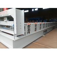 Buy cheap Automatic Roof Panel Roll Forming Machine , Sheet Metal Forming Machine Low Noise from wholesalers