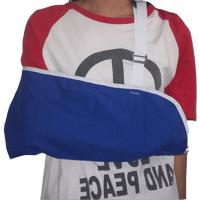 Buy cheap Polyester Cotton Blend Shoulder Arm Brace Envelope Style Adjustable Wide Strap from wholesalers