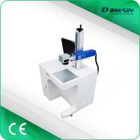 Buy cheap 20 Watt 3D Laser Marking Machine / Metal Tag Engraving Machine 20-100KHz from wholesalers