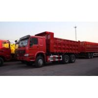 Buy cheap Sinotruk 336 Horsepower Heavy Duty Dump Truck / Diesel 6x4 full fender Dump Truck from wholesalers