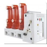 Buy cheap Three Poles 12KV Vacuum Circuit Breaker Outdoor Vacuum Circuit Breaker from wholesalers