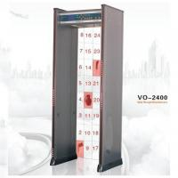 Buy cheap VO-2400 Led Digital Door Metal Detector with 24 Zones , DSP / Microprocessor Control from wholesalers