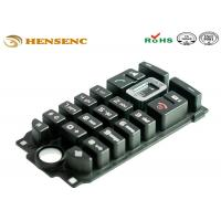 China Non Stick Medical Grade Silicone Injection Molding Button Rubber Keypad on sale