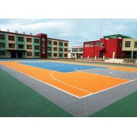 Buy cheap Shock Absorption Removable Basketball Court Flooring No Light Reflection Super Flexible from wholesalers