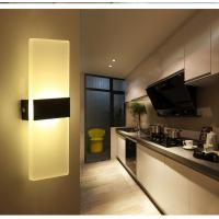 Buy cheap Square Acrylic LED wall lighting /inside led wall lamps for bedroom or sitting room from wholesalers