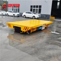 Buy cheap Remote Control Maintainence Free Battery Power Customized Transfer Cart on railway from wholesalers