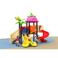 Buy cheap Winter Protect Plastic Slide Set , Funny Color Kids Slide Set With Customized Size from wholesalers