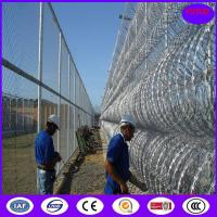 Buy cheap 450mm/600mm/900mm/1050mm Hot Dipped Galvanized Concertina Razor Barbed Wire for Protecting from wholesalers