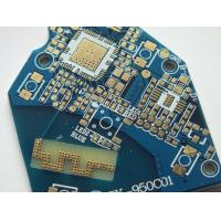 Buy cheap 1.6mm FR4 Double Sided PCB with ENIG surface finish and gold finger for automobile application from wholesalers