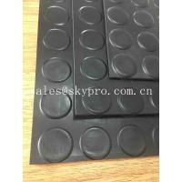 Buy cheap Safety Black Flooring Non Slip Rubber Matting Goat Mattress , Long Life Span from wholesalers