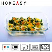 Buy cheap Deep Borosilicate Pyrex 9 x 9 Glass Baking Dish Square Baking Pan from wholesalers