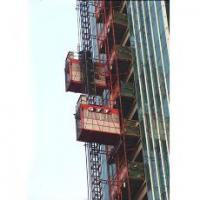 Buy cheap 2t SC200 single cage construction elevator building hoist with CE from wholesalers