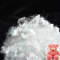 Buy cheap Semi Virgin Non Siliconized Polyester Hollowfibre 15D×32mm With Warmth Retention Property from wholesalers
