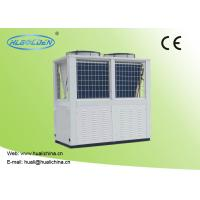 Buy cheap Air To Water Swimming Pool Heat Pump R410A Aluminum Fin Color Steel Plate 32~75 KW Water Heater from wholesalers