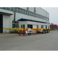 Buy cheap Front Telescopic Skeleton Semi Trailer 3 axles 40' to 53' from wholesalers