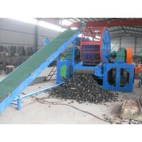 Buy cheap Crush Rubber Tyre Recycle Machine PLC Control Three Phase 380V 50Hz from wholesalers