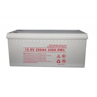 Buy cheap Long Cycyle Life Solar 2560WH 200AH 12.8 V Lithium Battery from wholesalers