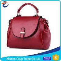 Buy cheap PU Material Womens Tote Bags / Genuine Leather Handbags Variety Custom Color from wholesalers
