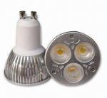 Buy cheap 90V-260V ac, GU10, base, 3 watt LED spotlights, LED light bulb, cool white,warm white from wholesalers