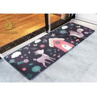 Quality Modern Cartoon Indoor Area Rugs / Cushion Non Slip Entrance Mats for sale