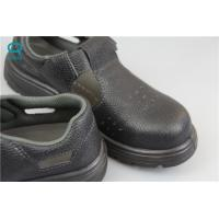 Buy cheap Industrial ESD Safety Shoes with Steel Toe Mens , Black Color from wholesalers