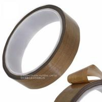 Buy cheap Masking Sealing PTFE Glass Cloth Tape 0.08MM Thickness High Temperature Resistant from wholesalers