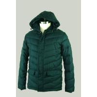 Buy cheap Green Hooded Light Weight Goose Down Winter Jackets S / M / L / XL / XXL product