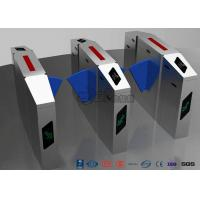 Buy cheap Retractable Optical Turnstile Security Systems Electric For Airports Access from wholesalers