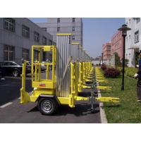 Buy cheap 10m Platform Height Aluminium Alloy Trailer Mounted Aerial Work Platform Lift product