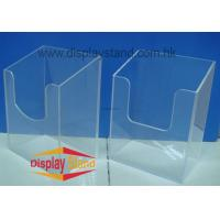 Buy cheap Customized Eco-Friendly Counter Acrylic POP Displays Box for Acrylic Brochure Holder from wholesalers