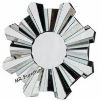 Buy cheap Romantic Wall Mirrors For Bedroom, 80cm Diameter Decorative Wall Mirrors from wholesalers