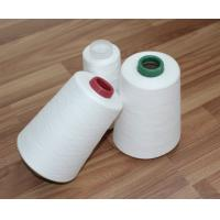 Buy cheap 100% Virgin Fiber 30s/2 Spun Polyester Yarn Raw White Bright For Sewing Thread product