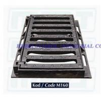 China ductile iron grating gully EN124 on sale