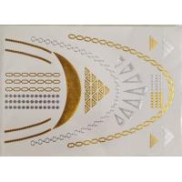 Long lasting temporary tattoos quality long lasting for Gold foil tattoo