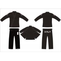 Buy cheap UFC 375g Pre - shrunk Hemp Bjj Gi Black for Adult Competition from wholesalers